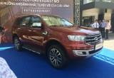 Ford Everest 2018 đã có mặt tại Việt Nam