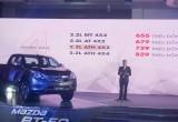 Mazda BT-50 thêm phiên bản mới, giá từ 655 triệu đến 829 triệu đồng