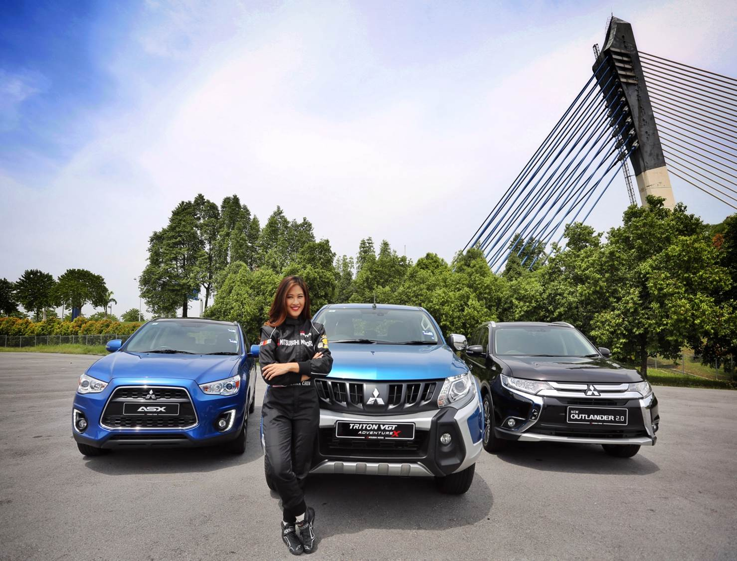 Malaysia Motorsports Athlete, Leona Chin as Brand Ambassador for MMM