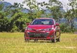Toyota Vios vẫn xếp đầu bảng
