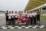 Đội đua Dream Racing của Honda châu Á hợp tác với SHOWA