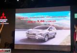 Mitsubishi Xpander chỉ tiêu hao 5,06 lit cho 100 km