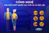 Ứng dụng công nghệ chủ động giúp người già lái xe tốt hơn