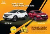 Khuyến mãi hay khi mua Honda CR-V và HR-V
