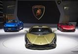Lamborghini Sián: bữa tiệc thị giác