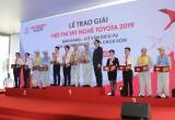 Toyota Việt Nam tổ chức vòng chung kết Hội thi tay nghề Toyota 2019 tại Hải Phòng