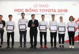 Toyota tiếp tục trao tặng 115 Học bổng cho các sinh viên xuất sắc