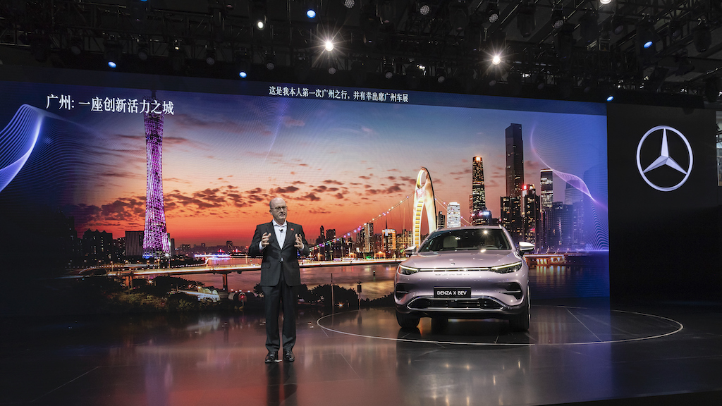 Mercedes-Benz Cars auf der Auto Guangzhou 2019 Mercedes-Benz Cars at Auto Guangzhou 2019