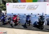 Honda ra mắt AirBlade 150 ABS mới, giá cao nhất 56,390 triệu đồng
