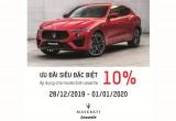 05 ngày đặc biệt để sở hữu Maserati Lavante