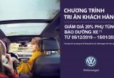 Volkswagen ưu đãi dịch vụ dành cho chủ xe