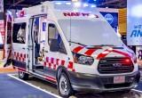 Ford Transit được ưa chuộng làm xe cứu thương tại Trung Đông