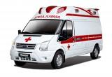 Ford Việt Nam tặng xe Transit cứu thương áp lực âm cho bệnh viện