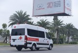 Tập đoàn Thành Công và Hyundai Motor trao tặng 10 xe Solati cứu thương cho các cơ sở y tế tuyến đầu chống dịch Covid-19