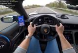 Porsche Taycan Turbo S đạt tốc độ 267 Km/htrên cao tốc Autobahn