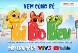 """Honda với chương trình """"Vui giao thông"""" cho trẻ em trên VTV3"""