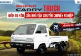 """Suzuki """"nâng cấp"""" hậu mãi, ưu đãi đặc biệt cho xe tải nhẹ"""