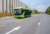Chạy thử thành công xe buýt điện đầu tiên của VinFast