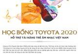 Toyota tặng hơn 200 suất học bổng cho sinh viên kỹ thuật và âm nhạc