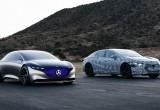 Mercedes-Benz EQS chuẩn bị cạnh tranh Tesla Model S, Porsche Taycan và Jaguar XJ