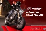 Honda CB650R, CB500X và Rebel 500 ra mắt bikers Việt