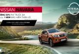 Ưu đãi hấp dẫn khi mua Nissan Navara trong tháng 3