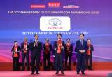 Toyota Việt Nam nhận Giải thưởng Rồng Vàng lần thứ 19