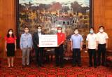 Toyota Việt Nam hỗ trợ trang thiết bị y tế