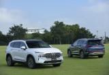 Hyundai Santa Fe 2021 chính thức ra mắt, giá từ 1,03-1,34 tỷ đồng