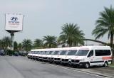 Hyundai tặng 10 xe Solati cứu thương cho tuyến đầu chống dịch