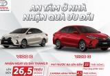Toyota Vios ưu đãi lên đến 26,5 triệu đồng trong tháng 9