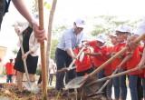"""""""Toyota chung tay xanh hóa học đường"""" năm 2021 tại tỉnh Bắc Giang"""